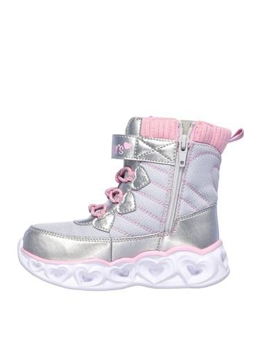 Skechers Skechers Heart Lights Yürüyüş Ayakkabısı Gri